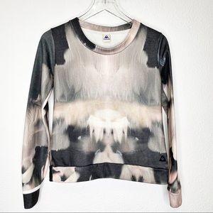 Le Coq Sportif Marbled Tie Dye Sweatshirt